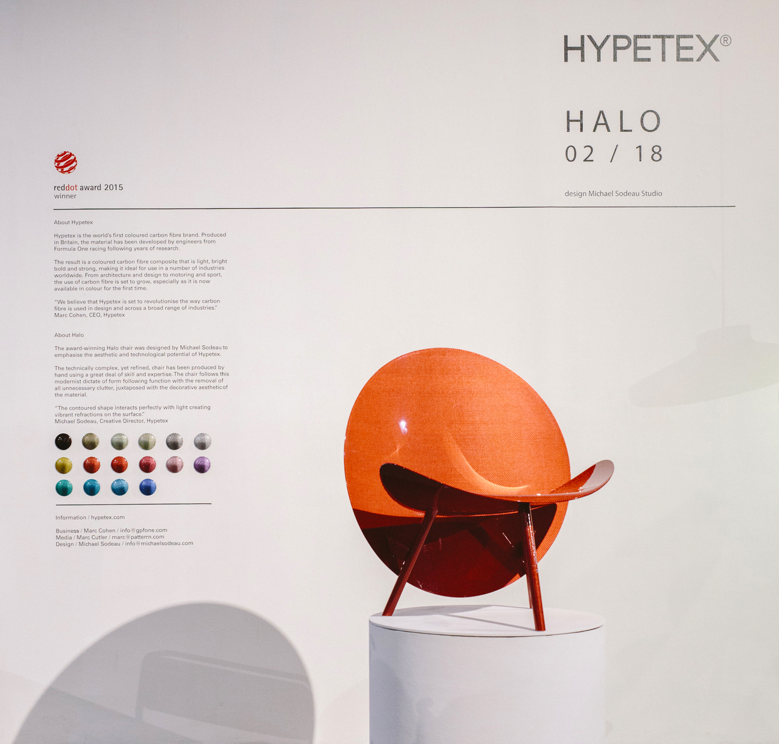 Hypetex to Star at LA Design Show