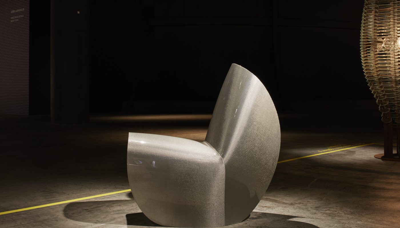 "Hypetex Launches Carbon Fibre ""Kuki"" Chair with Zaha Hadid Design"